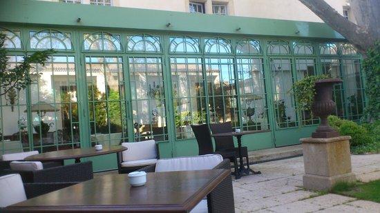 Villa Mazarin : véranda