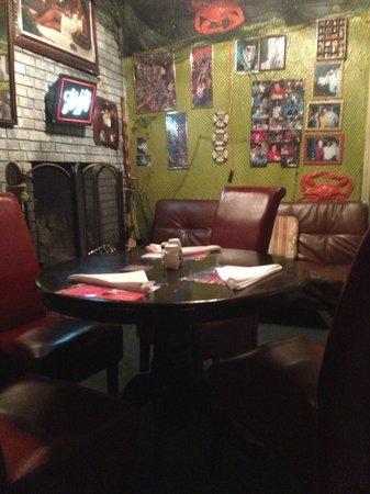 Old School Diner: dining room