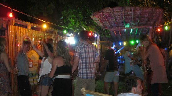 Howler Bar & Restaurant: only place in town you can dance outside in the grass by the beach...