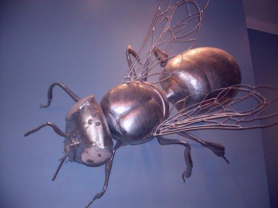 SCAD Museum of Art: Killer bee!