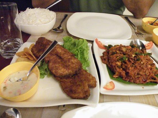 Kingsbay: Fresh Fish fry and Seafood