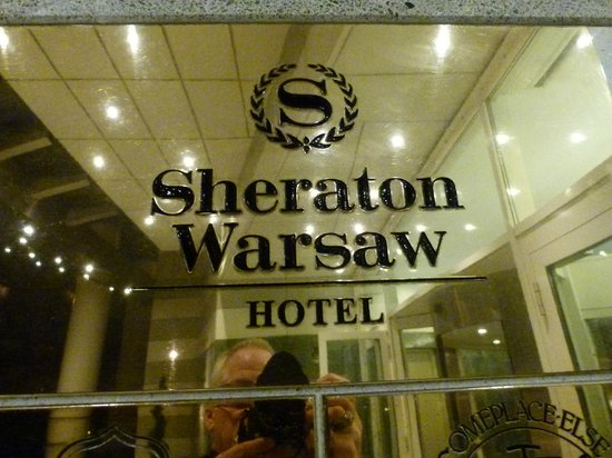 Sheraton Warsaw Hotel : Entry area