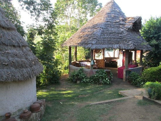 Songota Falls Lodge: Dining site