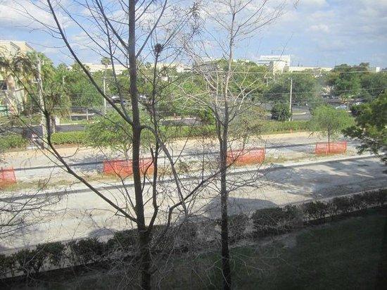 Staybridge Suites Ft. Lauderdale Plantation: Vista desde la habitación, no la mejor