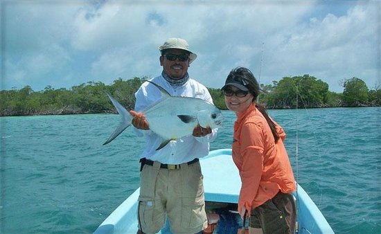 Barefoot Fisherman Expeditions: Another happy angler