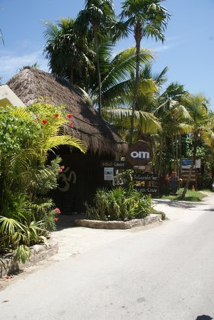 ‪‪Om Tulum Hotel Cabanas and Beach Club‬: Entrance‬