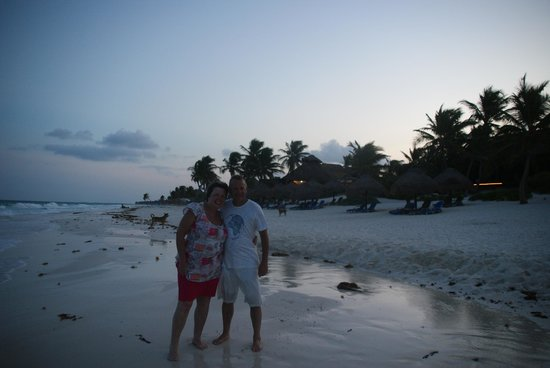 Om Tulum Hotel Cabanas and Beach Club: Happy Anniverary
