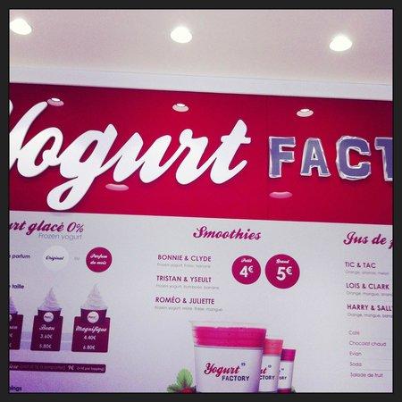 yogurt factory photo de yogurt factory paris tripadvisor. Black Bedroom Furniture Sets. Home Design Ideas