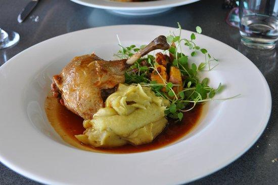 Huhu: A delicious main course!