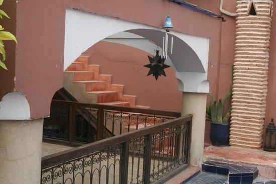 Riad Jenai: terrassse
