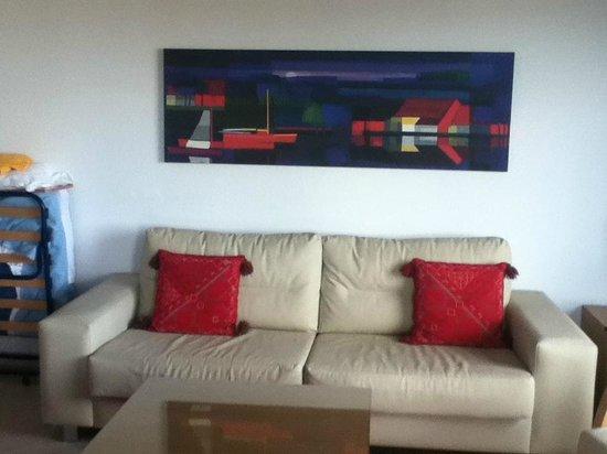 Costa Sal Villas and Suites: sofa