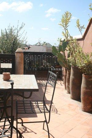 Riad Jenaï : 2ème terrasse