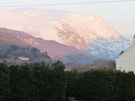 Llanberis Lodges: room views