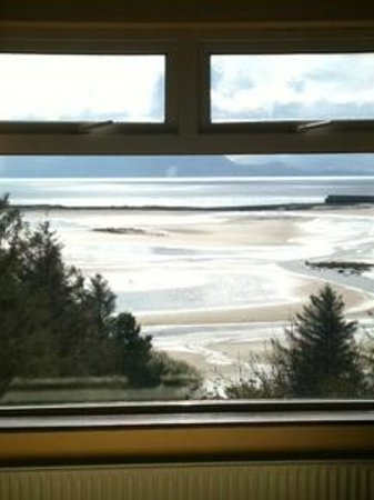 Moynish House Bed and Breakfast : View from Room 8 WOW!!