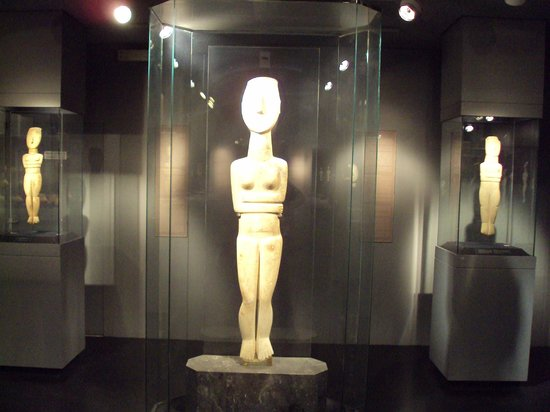 figurines - Picture of Museum of Cycladic Art, Athens ...