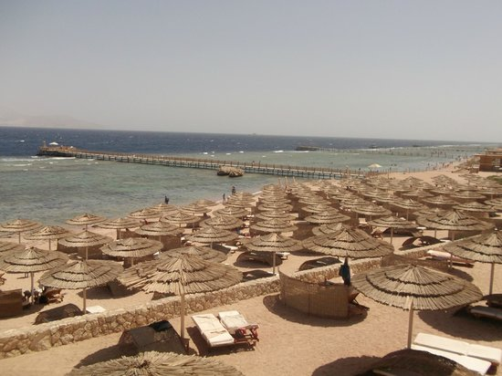 Cleopatra Luxury Resort Sharm El Sheikh: View From the Resturant on the balcony