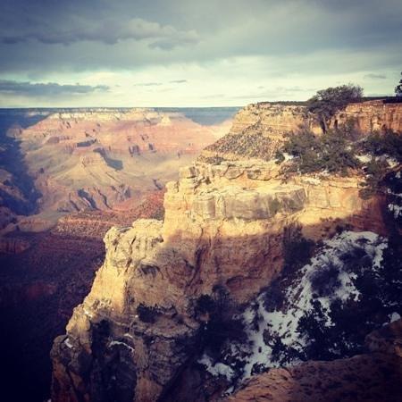 El Tovar Hotel: linda vista do Canyon