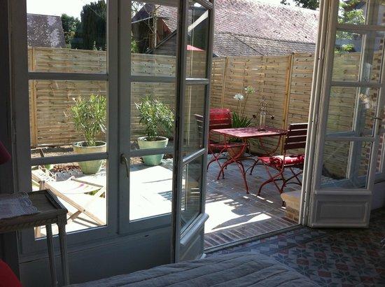 Aux Rives de Honfleur : Terrasse du Pavillon