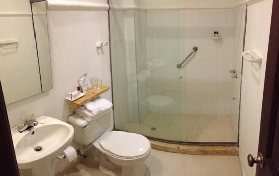 Hotel Charlotte : Bathroom.