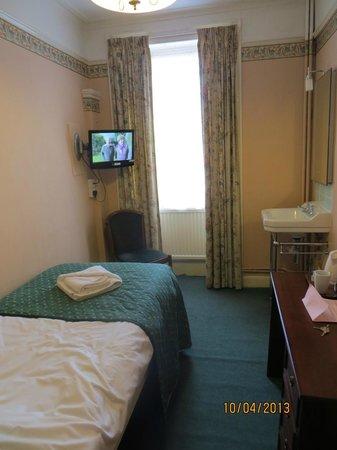 Crescent Hotel: room 21