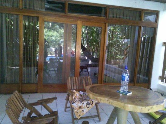 Hotel Casa Sueca: the porch