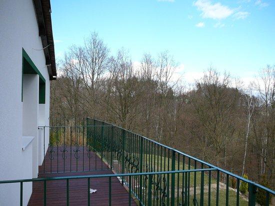 Seeberg: Blick vom Balkon