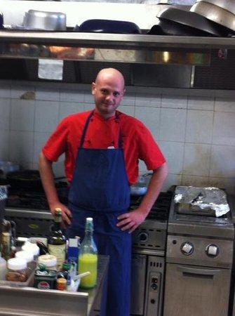 La Cicogna: Lo Chef