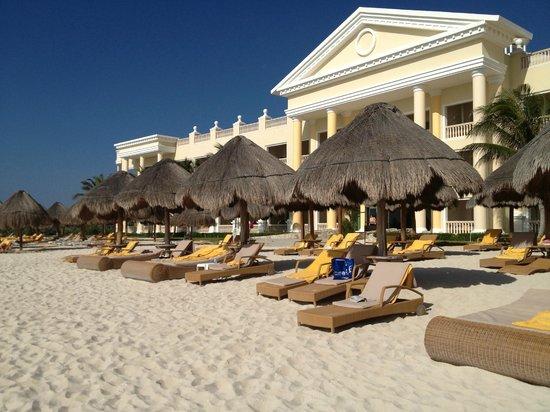 Iberostar Grand Paraiso Beach Lounge Chairs