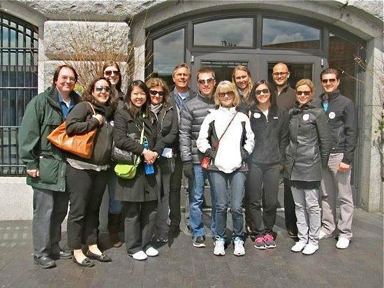 Boston Foodie Tours: Our Foodie Tour Group