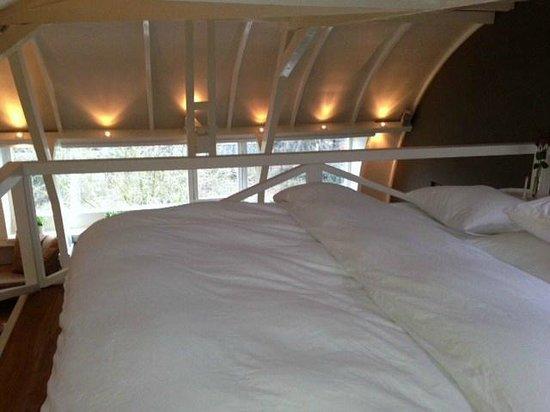 Garden Suite: Schlafbereich.
