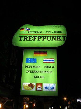 Restaurant Treffpunkt: Einfach zu finden!!!