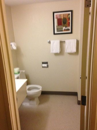 Worthington Red Roof Inn: Bathroom