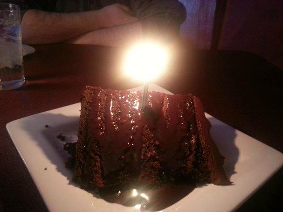 Bella Luna Restaurant: Chocolate Cake