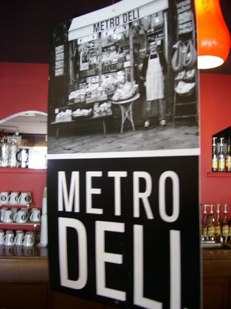 Aroma's Bistro: Only Metro Deli Brand Pure Meat Served