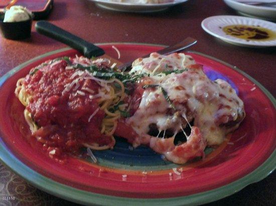 Bella Luna Restaurant: Eggplant Parmesan