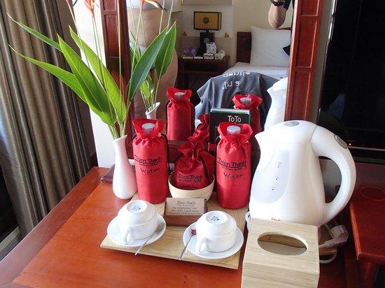 Thien Thanh Boutique Hotel: Liebevolle Details im Zimmer