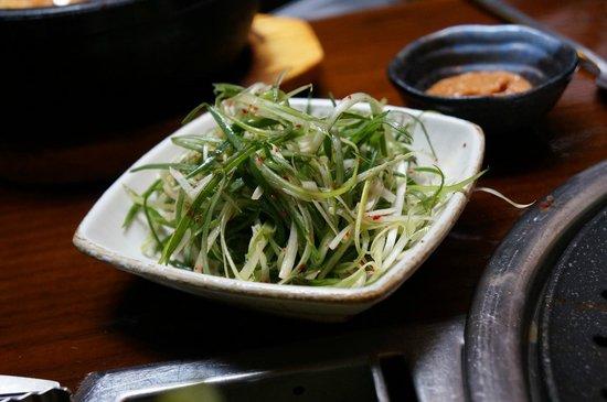 Koba: Free side dish!