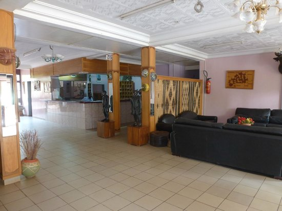 Ouahigouya, Burkina Faso: The Hotel Lobby