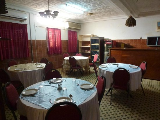 Hotel de l'Amitie: The Dining Room