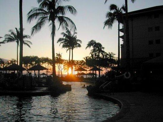 The Westin Kaanapali Ocean Resort Villas : Kaanapali Sun Set