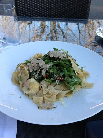 Café Beau-Rivage : Pappardelle with black truffles!