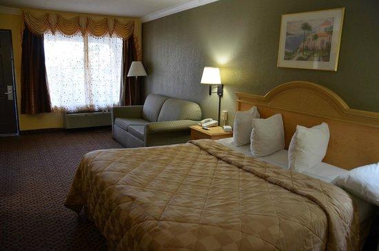 Americas Best Value Inn: Slaapkamer