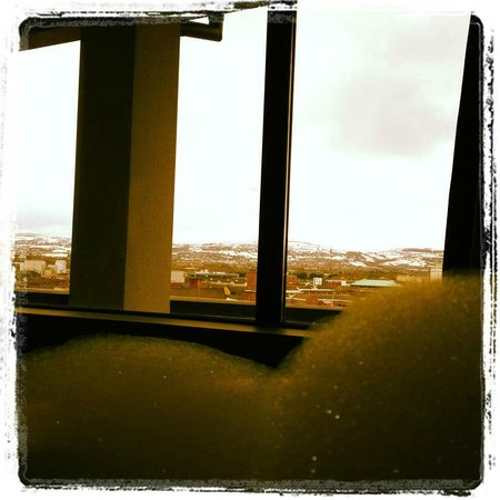 The Fitzwilliam Hotel Belfast: The view from the bath