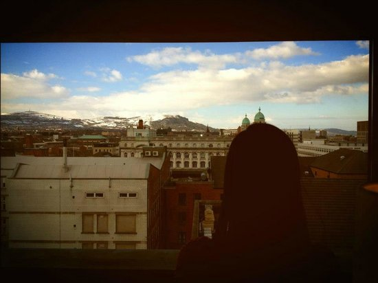 The Fitzwilliam Hotel Belfast: The view from our suite