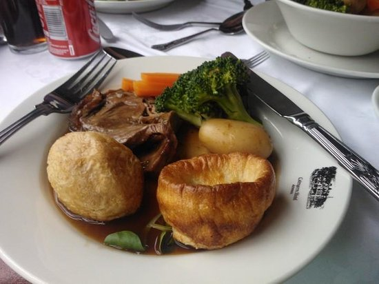 Strathspey Steam Railway: roast dinner