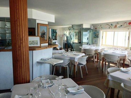 Azenhas do Mar Restaurante Piscinas: Inside entrance