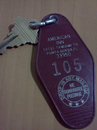 American Inn: real keys, kinda retro