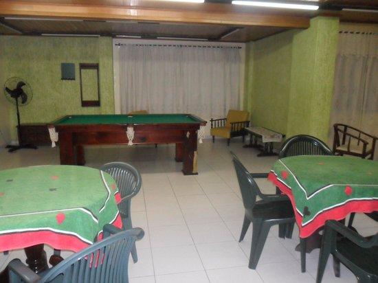 Hotel Rosenbrock : Sala de Jogos