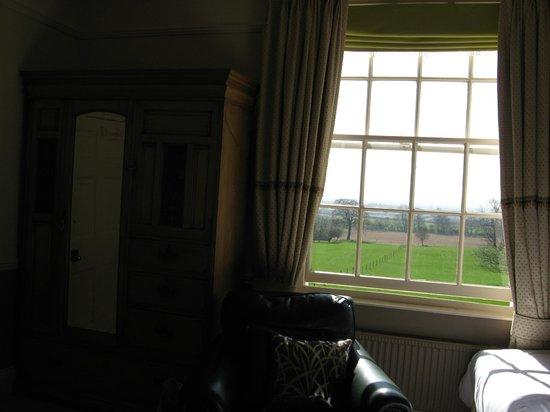 Measham House Farm: Bedroom window