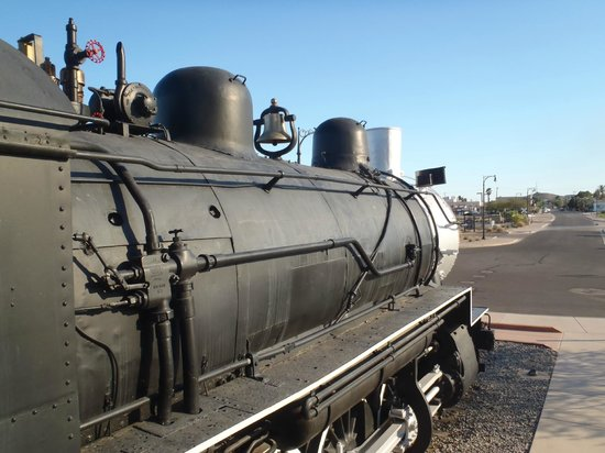 Yuma Crossing National Heritage Area: Southern Pacific Steam locomotive